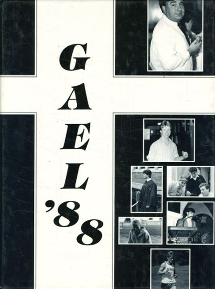 1988 St. Mary's High School Yearbook Cover