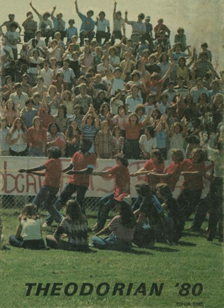 1980 Theodore High School Yearbook Cover