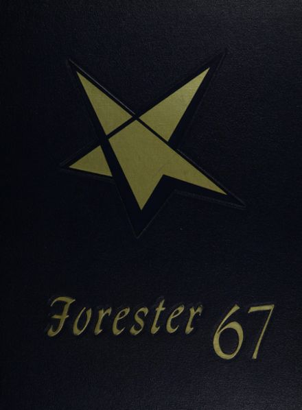 1967 Forest Park High School 406 Yearbook Cover