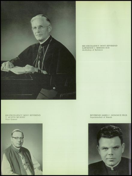 1963 St. Stephen's High School Yearbook Page 8