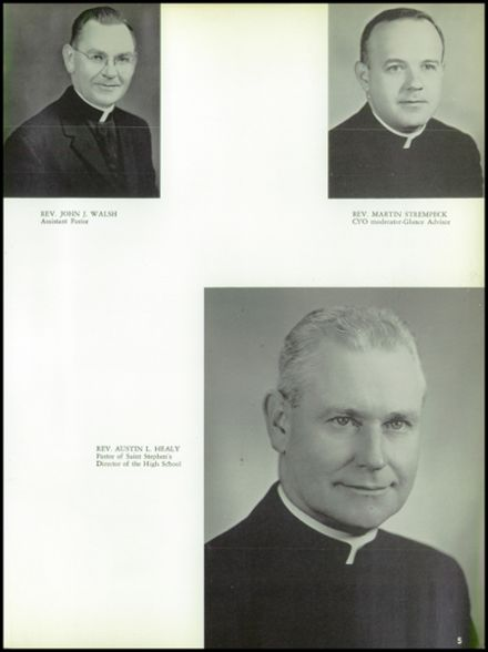 1963 St. Stephen's High School Yearbook Page 9