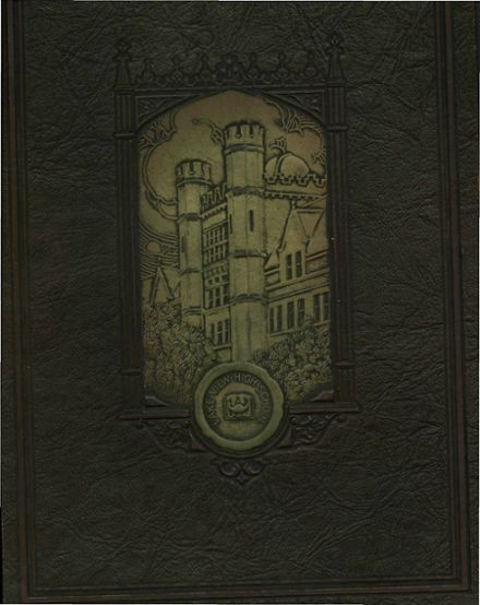 1928 Lake View High School Yearbook Cover