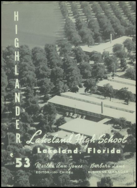 1953 Lakeland High School Yearbook Page 6