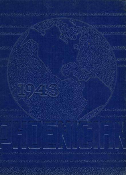 1943 Phoenix Union High School Yearbook Cover