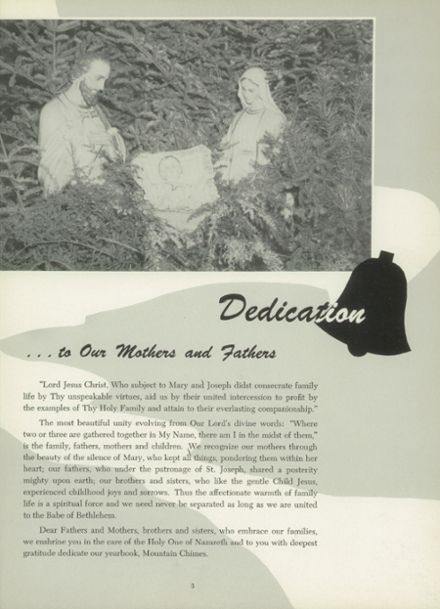 1950 Mt. St. Mary Academy Yearbook Page 7