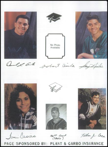 1994 Aguilar High School Yearbook Page 6