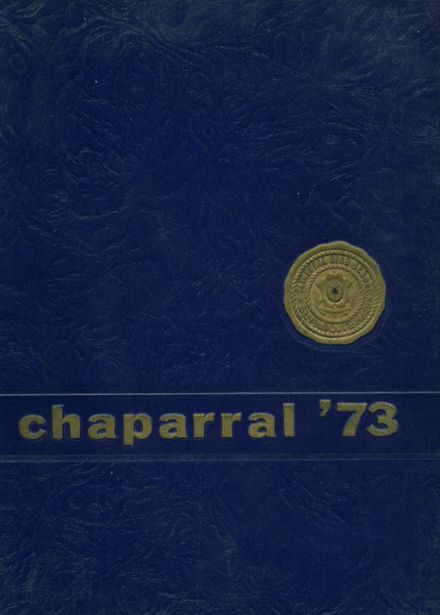 1973 Cathedral High School Yearbook Cover