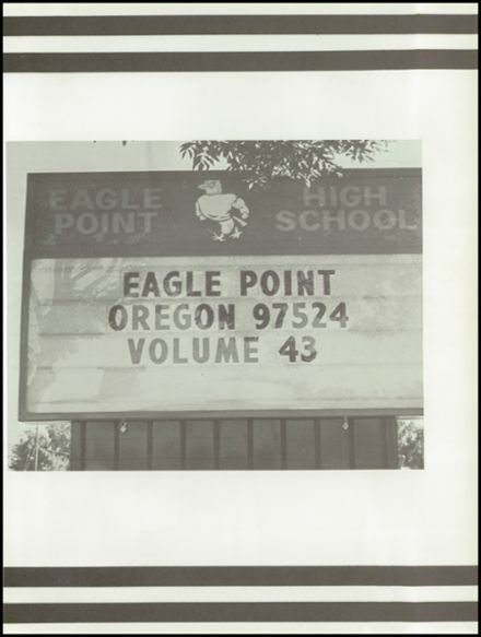 1980 Eagle Point High School Yearbook Page 5