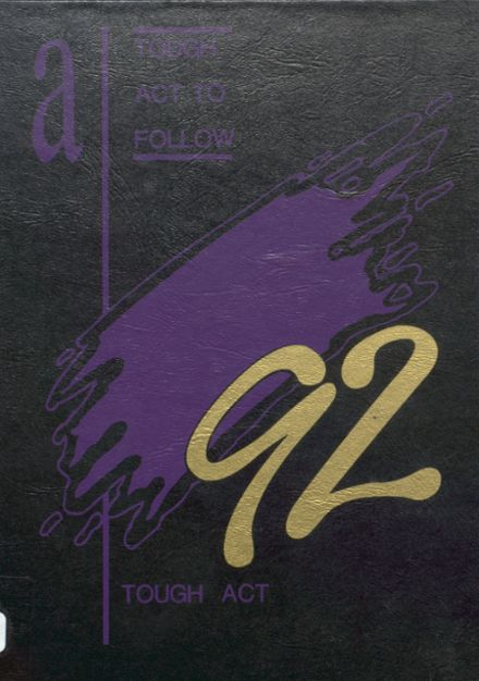 1992 New Athens High School Yearbook Cover