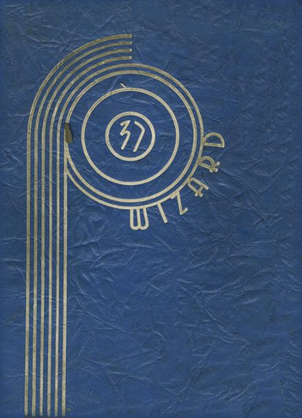 1937 Ossining High School Yearbook Page 1