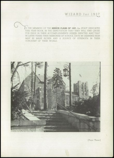 1937 Ossining High School Yearbook Page 5