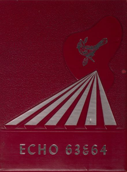 1964 Woodlawn High School Yearbook Cover