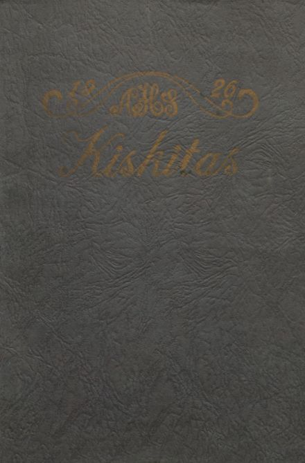 1926 Apollo High School Yearbook Cover