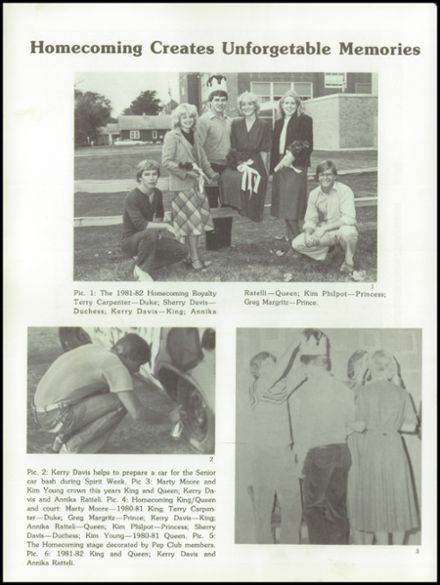 1982 Overton High School Yearbook Page 8