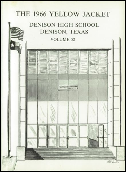 1966 Denison High School Yearbook Page 5