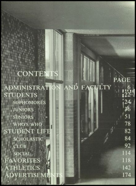 1966 Denison High School Yearbook Page 8