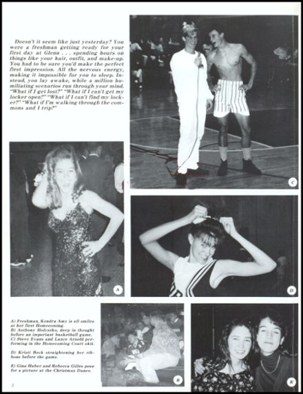 1993 John Glenn High School Yearbook Page 6