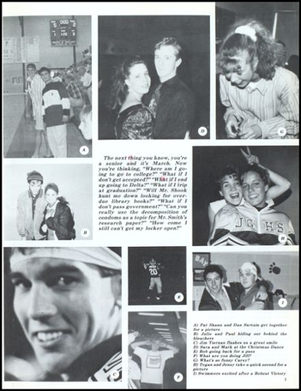 1993 John Glenn High School Yearbook Page 7