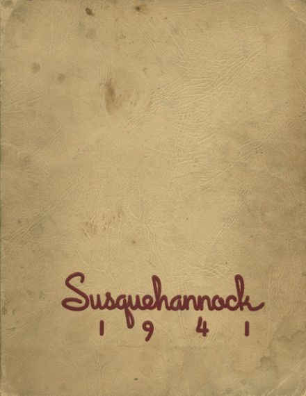 1941 Columbia High School Yearbook Cover