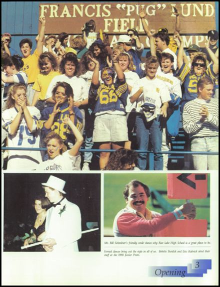1991 Rice Lake High School Yearbook Page 7