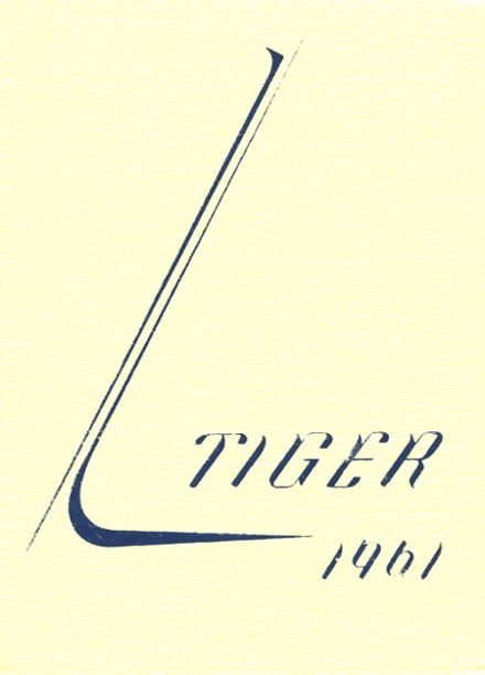 1961 Auburn High School Yearbook Cover