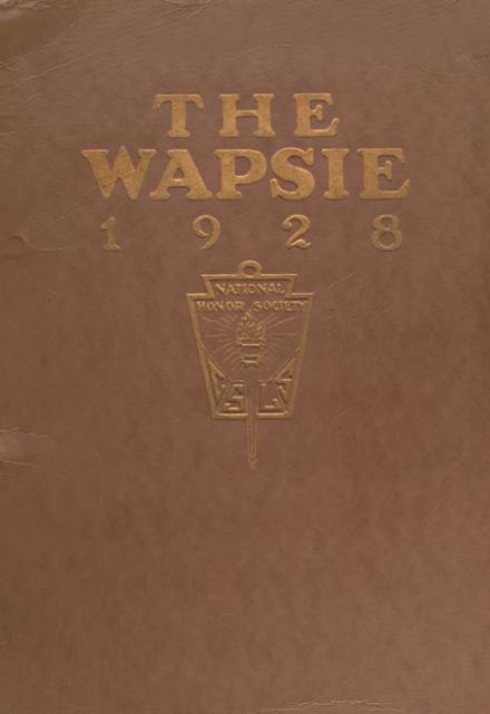 1928 Independence Christian High School Yearbook Cover