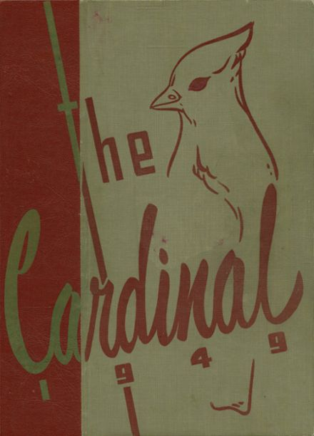 1949 Glendale High School Yearbook Cover