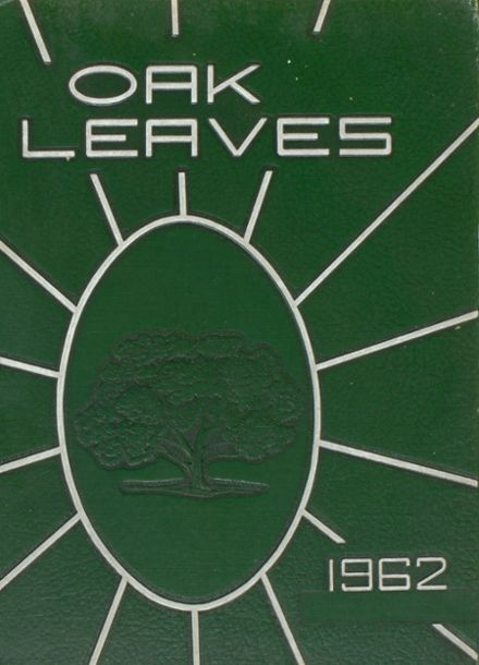 1962 Fayetteville-Manlius High School Yearbook Cover