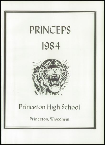 1984 Princeton High School Yearbook Page 5