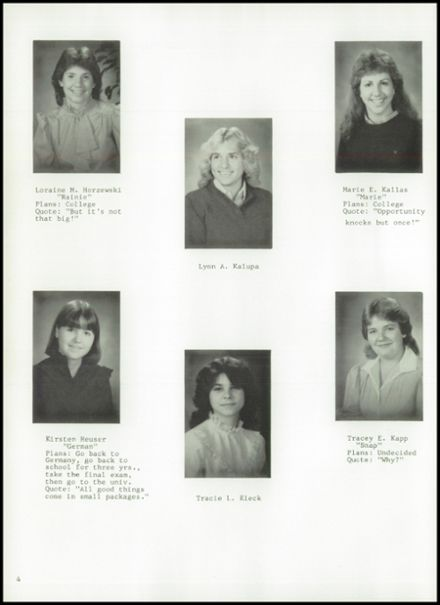 1984 Princeton High School Yearbook Page 8