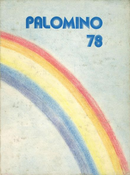 1978 Carson High School Yearbook Cover