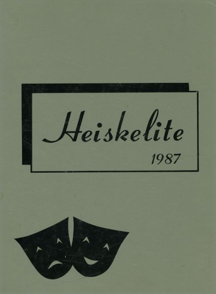 1987 Hagerstown High School Yearbook Cover