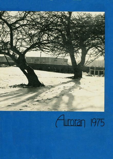 1975 East Aurora High School Yearbook Cover