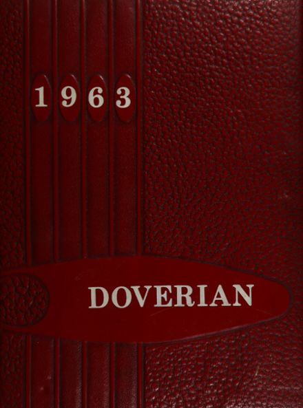 1963 Dover High School Yearbook Cover
