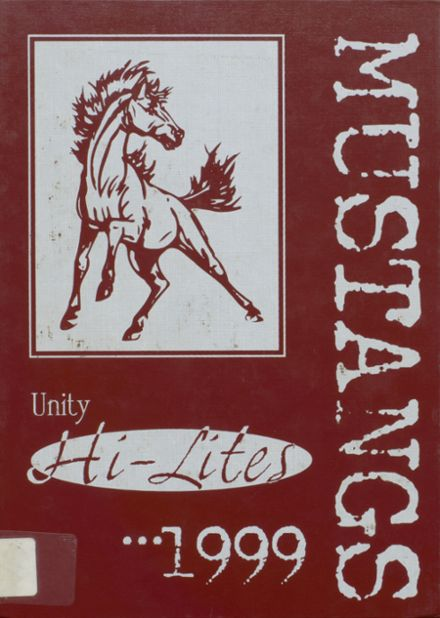 1999 Unity High School Yearbook Cover