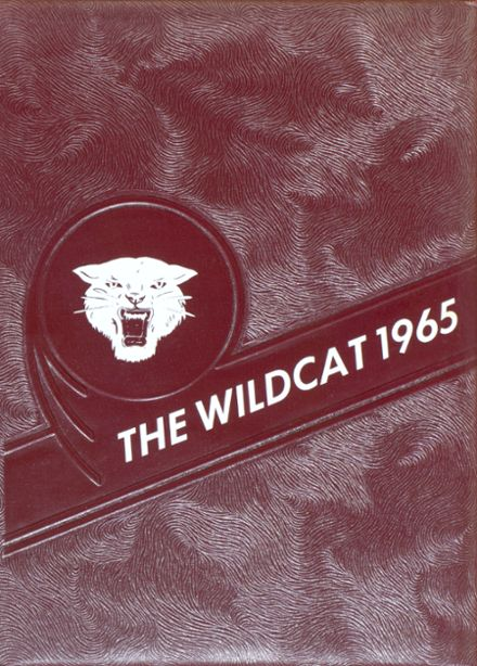 1965 Jewell High School Yearbook Cover