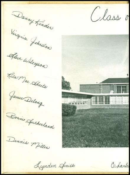 1963 North Harrison High School Yearbook Page 2