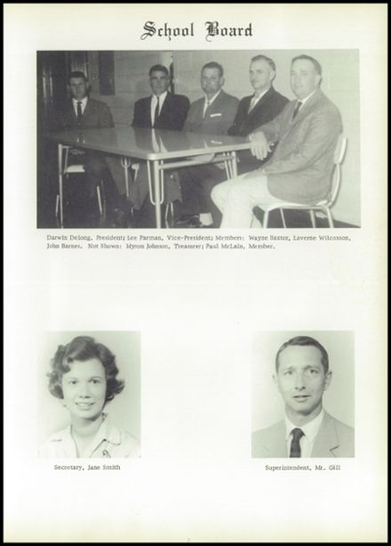 1963 North Harrison High School Yearbook Page 7
