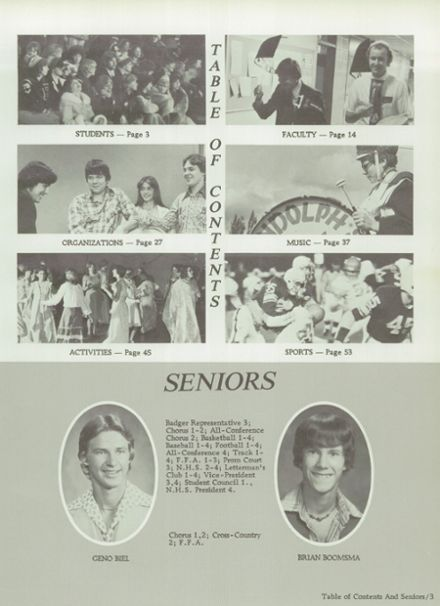 1979 Randolph High School Yearbook Page 7