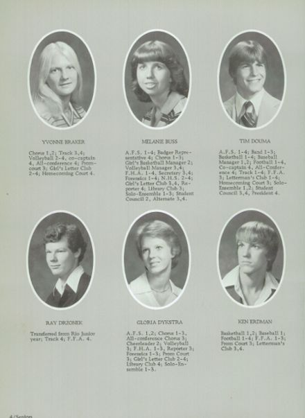 1979 Randolph High School Yearbook Page 8