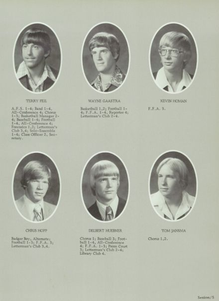 1979 Randolph High School Yearbook Page 9