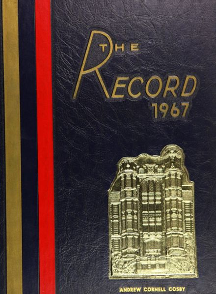 1967 Frankford High School Yearbook Cover