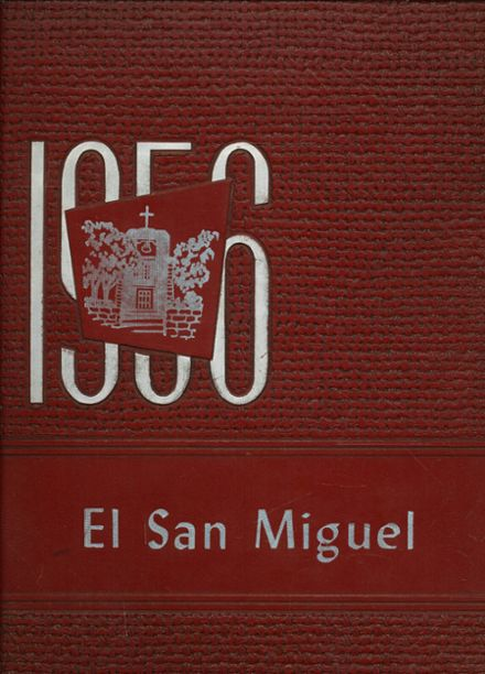1956 St. Michael's High School Yearbook Cover
