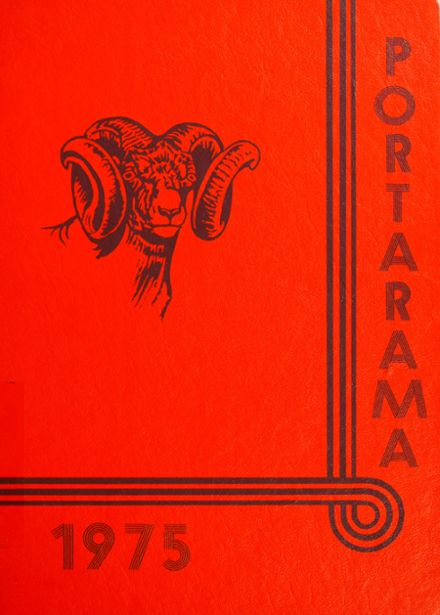 1975 Portage Middle School Yearbook Cover