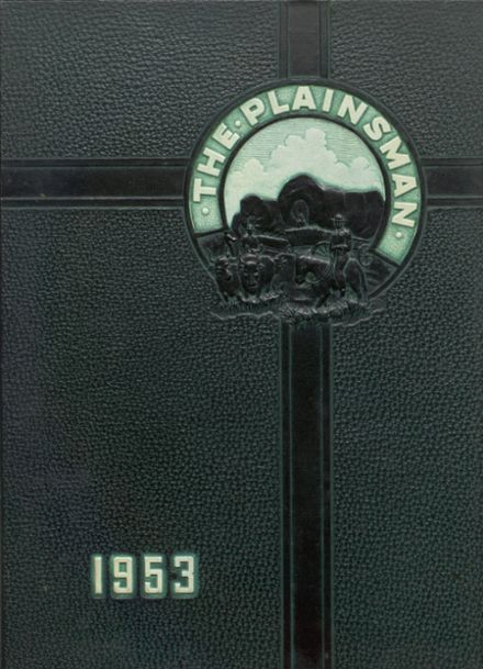 1953 Plainfield High School Yearbook Cover