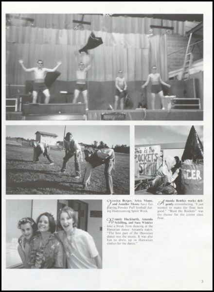 2001 Rib Lake High School Yearbook Page 7