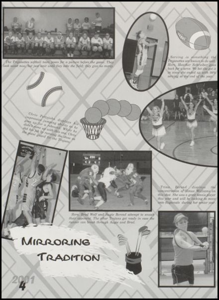 2001 Windthorst High School Yearbook Page 8