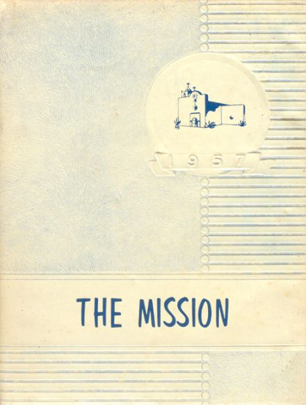 1957 Goliad High School Yearbook Cover
