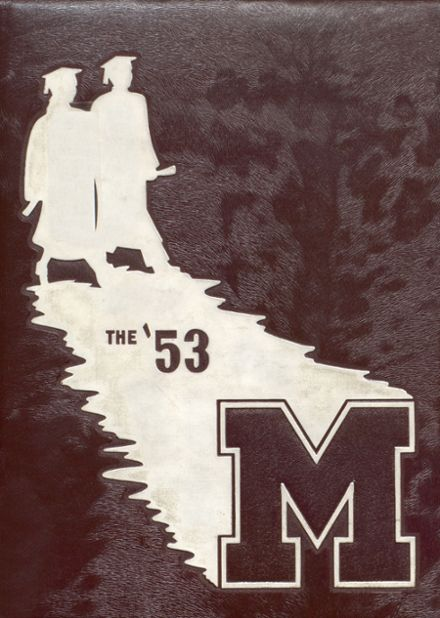 1953 Moline High School Yearbook Cover