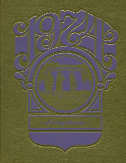1974 Livingston High School Yearbook Cover